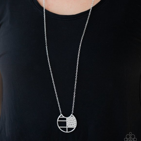 Abstract Aztec Silver